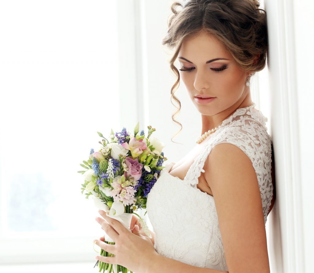 Brautstyling Beispiel
